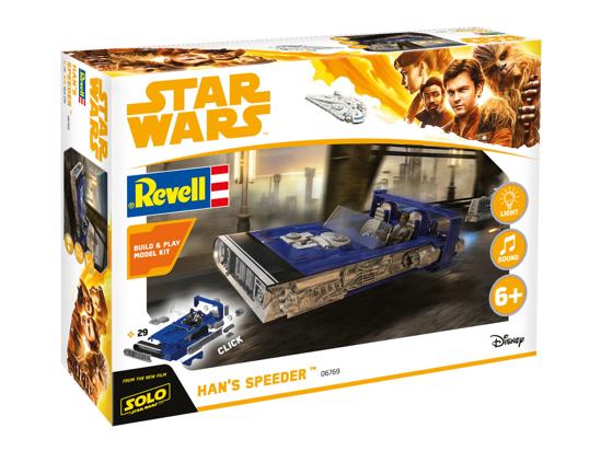 Снимка на Revell Build  and  Play Star Wars Hans Speeder 6769 Solo