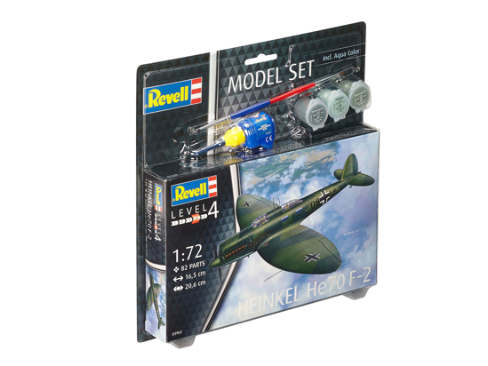 Снимка на Set model Revell Heinkel He70 F 2 1:72 63962