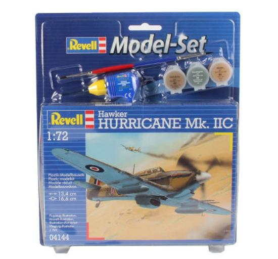 Снимка на Set model Revell Hawker Hurricane MkIIC 1:72 64144