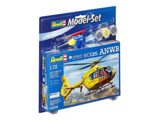 Poza cu Set model Revell Airbus Heli EC135 ANWB 1:72 64939