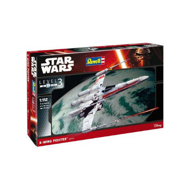 Poza cu Revell Star Wars X Wing Fighter 1: 112 3601