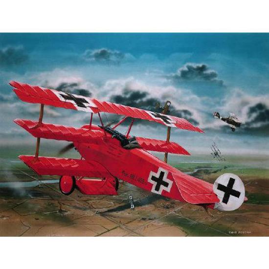 Снимка на 4744 Revell Fokker Dr1 Manfred von Richthofen 1:28