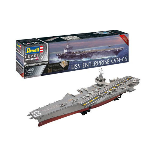 Снимка на Revell USS Enterprise CVN 65 1: 400 5173