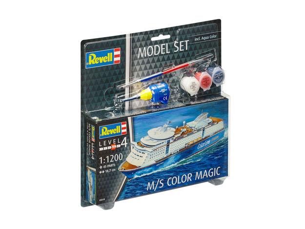 Poza cu Set model Revell M / S Color Magic 1: 1200 65818