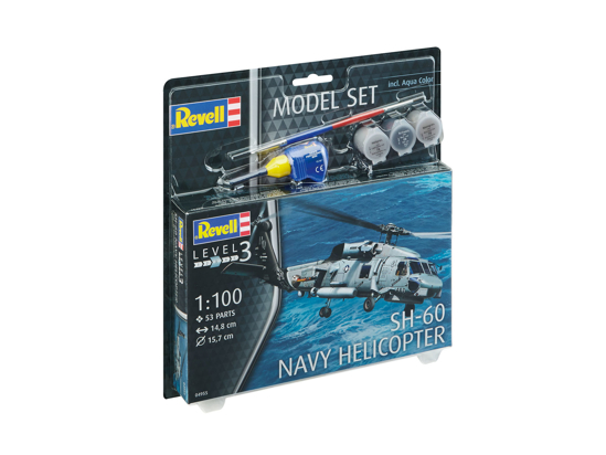 Poza cu Set model Revell SH 60 Navy Helicopter 1: 100 64955