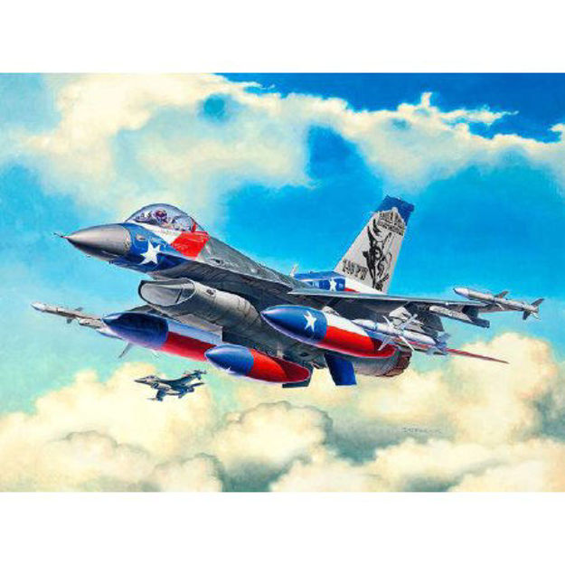 Poza cu Revell Lockheed Martin F 16C Fighting Falcon 1: 144 3992