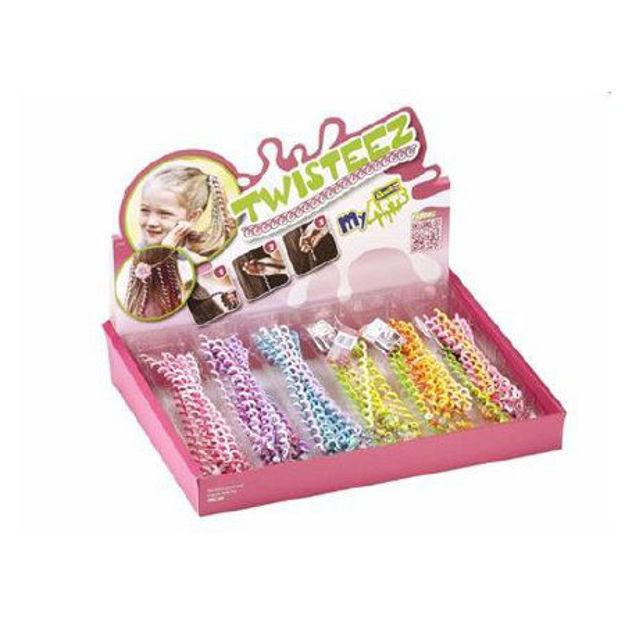 Снимка на Revell MyArts Twisteez Ornament de păr pentru fetițe 20cm 1buc portocaliu 30804