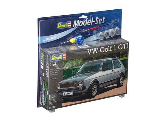 Снимка на Set model Revell VW Golf GTi 1:24 67072