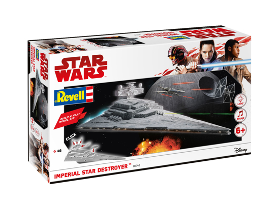 Снимка на Revell Build  and  Play Imperial Star Destroyer 1: 4000 6749