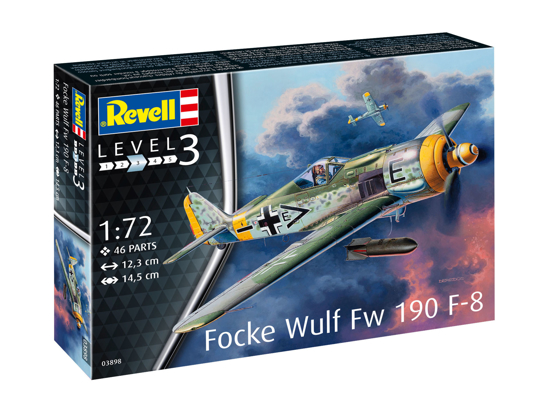 Снимка на Revizuire Focke Wulf Fw190 F 8 3898