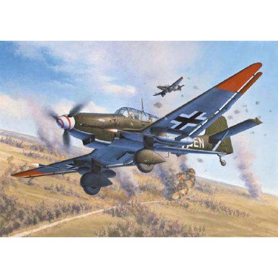 Poza cu Revell Junkers Ju 87 G / D Tank Buster 1:72 4692