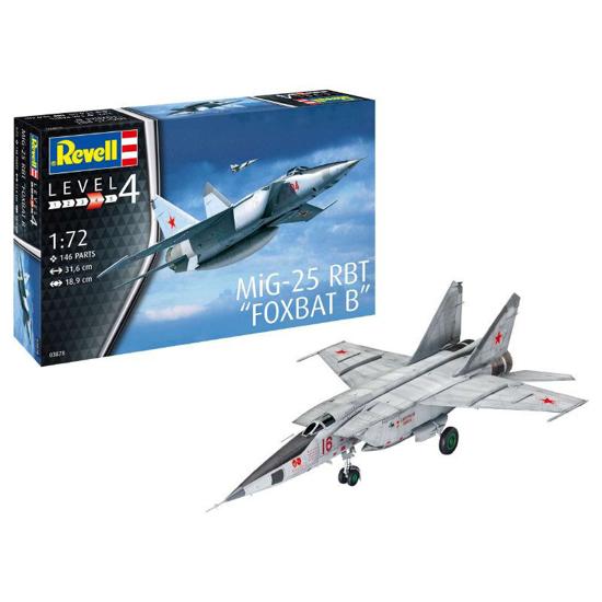 Снимка на 3878 Revell MiG 25 RBT 1:72