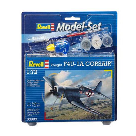 Снимка на Set model Revell Vought F4U 1D Corsair 1:72 63983