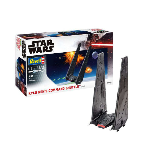 Poza cu Revell Star Wars Kylo Rens Command Shuttle 1:93 6746