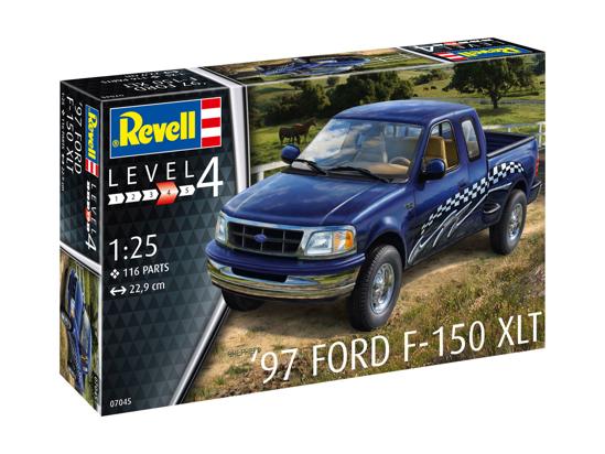 Снимка на Set model Revell 1997 Ford F 150 XLT 1:25 67045