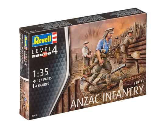 Снимка на Revell ANZAC Infanterie 1915 1:35 2618