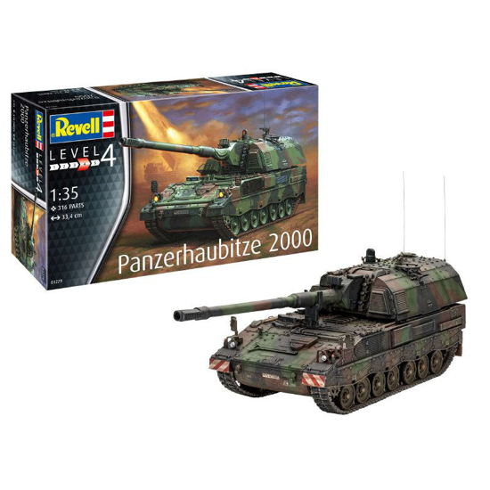 Poza cu Revell Panzerhaubitze 2000 1:35 3279
