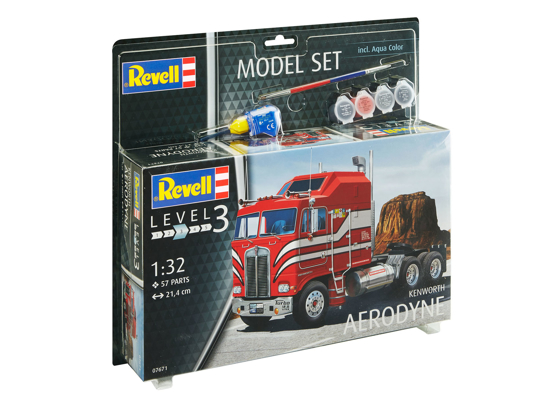 Снимка на Set model Revell Kenworth Aerodyne 1:32 67671