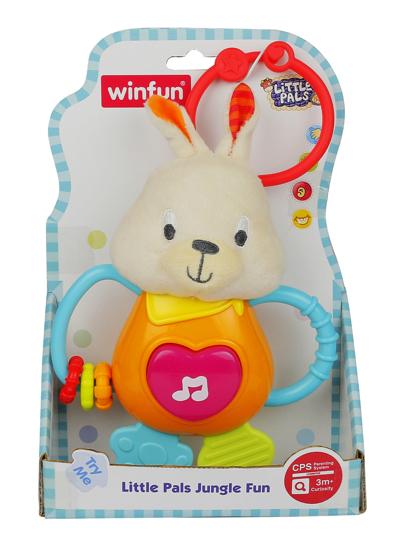Снимка на Jucarie bebelusi iepuras cu sunete distractive. Winfun, 153