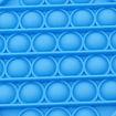 Poza cu Jucarie POP IT!, antistres, din silicon, patrat, albastru