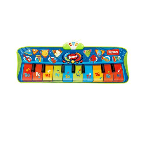 Poza cu Jucarie interactiva pentru copii, covor muzical cu 10 taste, Winfun, 2507