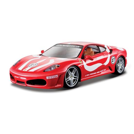 Poza cu Macheta Ferrari F430 Fiorano - rosu - 1:24