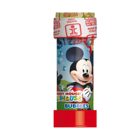 Снимка на Tub baloane de sapun 60 ml Mickey Mouse Dulcop 8243, Multicolor