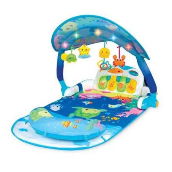 Снимка на Salteluta de joaca cu panou muzical detsabil si arcada luminoasa Winfun Deep Sea