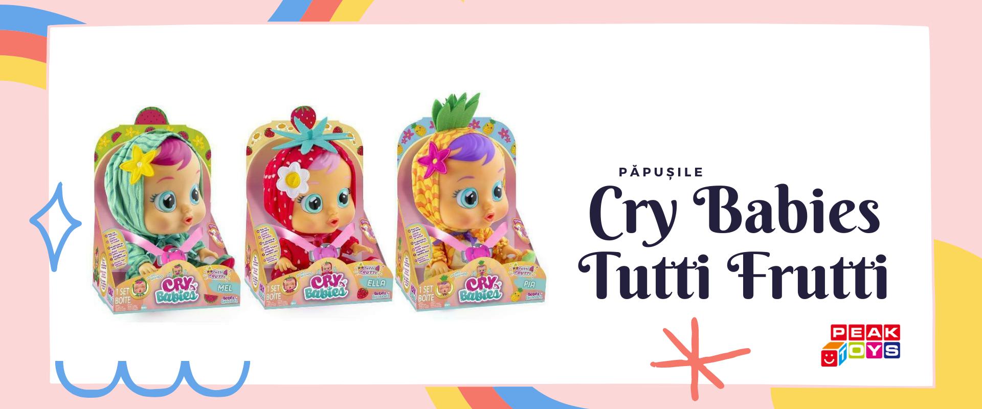 Poza pentru categoria Papusi Cry Babies