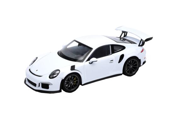 Снимка на Macheta auto Porsche 911 DT3 RS, alb, 1:24 Welly, 24080w