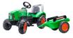 Снимка на Jucarie tractor cu pedale verde Supercharger cu capota cu deschidere si remorca, Falk, 2021AB
