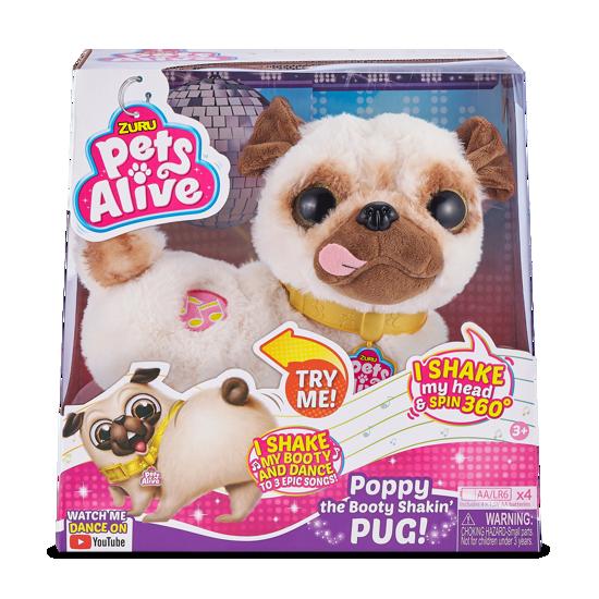 Снимка на Jucarie interactiva de plus Zuru Pets Alive - Catelusul Pug, 9521